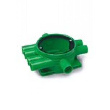 Kopplingsdosa Grön