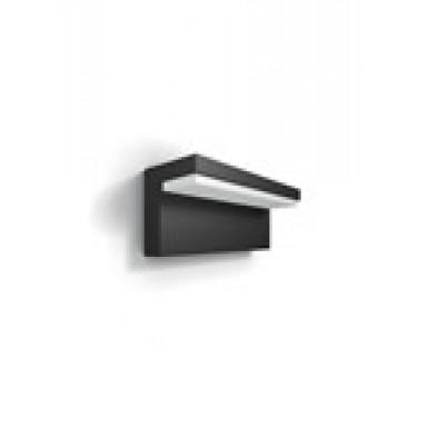 Vägglampa myGarden Bustan LED Philips Antracit grå