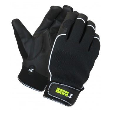 1st Black, med PU og Velcro