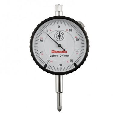 0-10 mm x 0,01 med tol. pilar mätning klocka