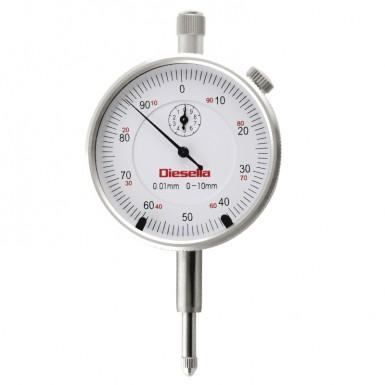 0-10 mmx0,01 m / tol-pilen Vit urtavla Mätning klocka