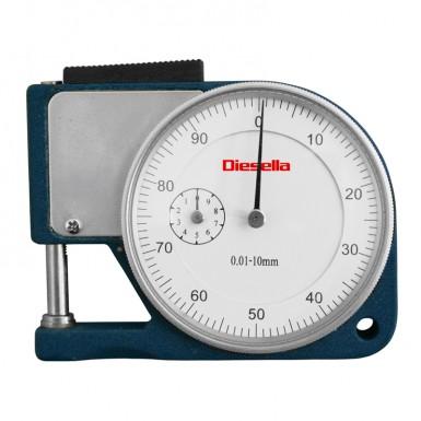 0-10 mm x 0,01 Tjockleksmätare fickmodell