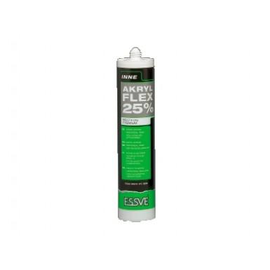 Akryl flex 25 högelastisk univerell målarfog beige 300ml