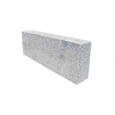 Granitkantsten Bergama Grå GV2 Rak