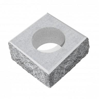 Stolpelement Granit Råhuggen