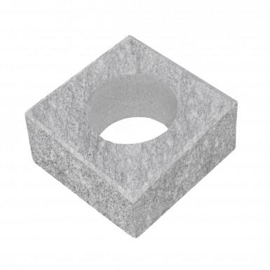 Stolpelement Granit Blästrad
