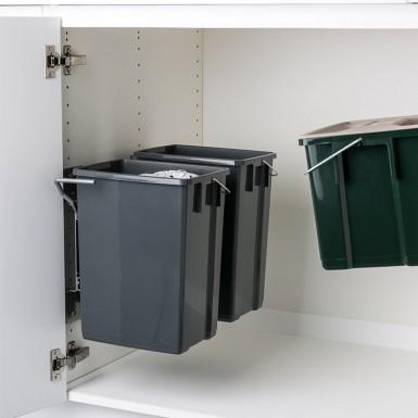 Ballingslöv Avfallshink AHSP Pelly 2 st 10 liter och 1 st 6 liter