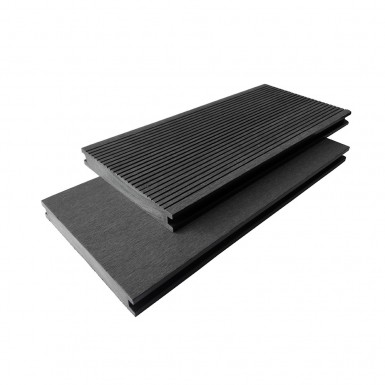 Komposittrall Bamboodeck Heavy/Solid Grå 2900 mm