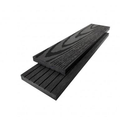 Listtäckning Bamboodeck 72x11x2900 mm Grå