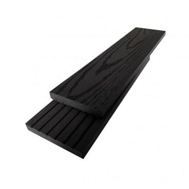 Listtäckning Bamboodeck 72x11x2900 mm Svart