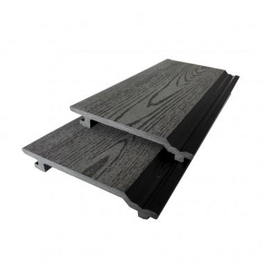 Panel Bamboodeck 156x21x2900 mm Grå