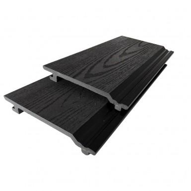 Panel Bamboodeck 156x21x2900 mm Svart