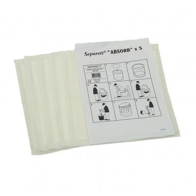 Absorb Separett 5-pack