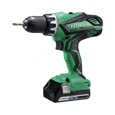 Borrskruvdragare Hitachi Power Tools DS18DJL Med Batteri 2,5AH