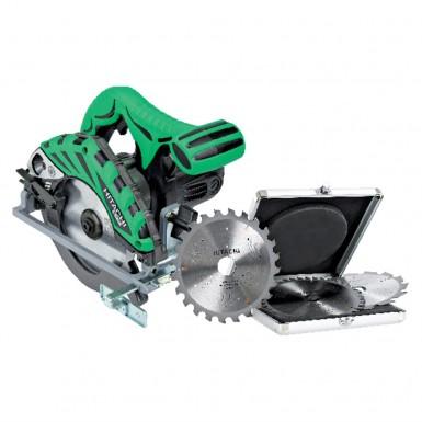Cirkelsåg Hitachi Power Tools C6BU2 + 3 Sågklingor